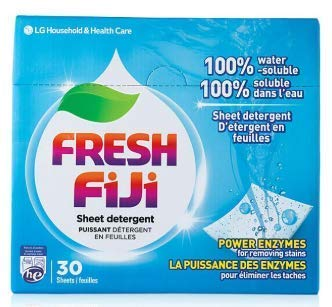 LG Laundry Detergent Sheets [ Lucky Fiji Power...