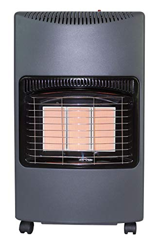 XONE Stufa GPL Potenza: da 1.5kw a 4.1kw, Pressione del Gas 28-30 mbar, Riscaldamento rapido, Risparmio energetico