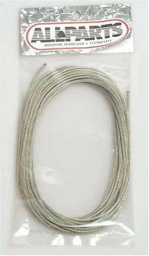 Allparts GW-0809-000 Tonabnehmer Kabel, 1-adrig, 7,6m
