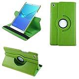 COOVY® 2.0 Funda para Huawei MediaPad M5 8 (8.4') Smart 360º Grados ROTACIÓN Cover Case Protectora Soporte Auto Sueño/Estela | Verde
