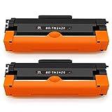 feier - Recambio para Tóner Brother TN2420 TN410, cartuchos compatibles con impresoras Brother HL-L2350DW HL-L2310D DCP-L2530DW MFC-L2710DW MFC-L2750DW MFC-L2730DW DCP-L2510D HL-L2375DW y HL-L2370DN