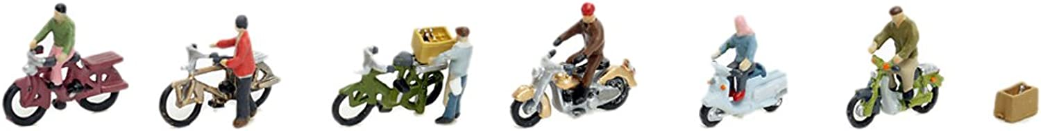 Building Collection Scene Small 116 Motorcycle . Bicycle