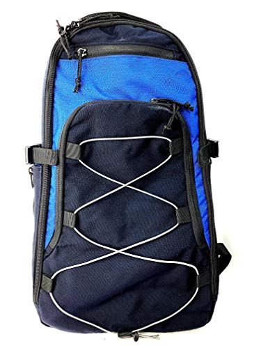 Sentinel Concepts Revelation II by TUFF Products (Black/Navy and Acid Blue Accents)