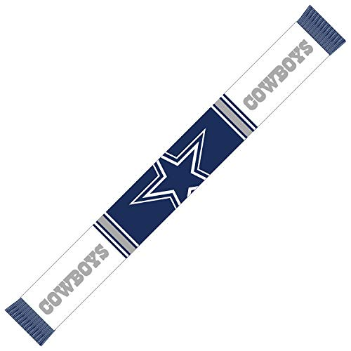 Forever Collectibles Dallas Cowboys Bar Scarf Colour Rush Navy/White - One-Size