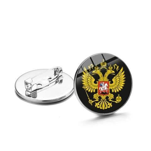 Held Stalin Retro Brosche Sichel Hammer Zeichen Sowjetische Russische Armee Icon Abzeichen Für Männer Mantel Anzug Metall Pins-Style 22,25Mm