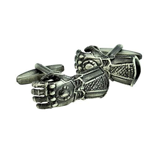 Gepantserde Gauntlet Ridders Armour handschoen Manchetknopen met geschenkdoos & verzonden uit het Verenigd Koninkrijk