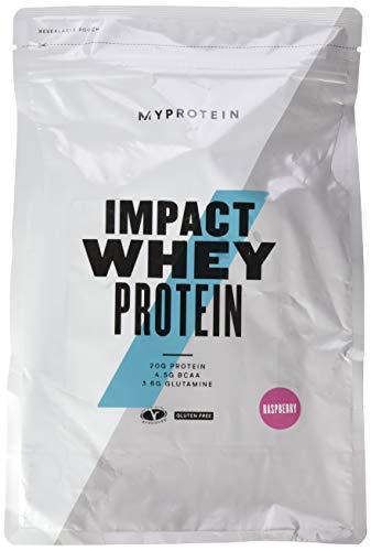 Myprotein Impact Whey Protein Raspberry, 1er Pack (1 x 1000 g)