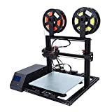 3Dプリンタ Acouto 最新機種 2色印刷 高速100mm/s 印刷サイズ約 300×300×10mm 3DプリンタDIYキット 高精度 速い放熱 おもちゃ 家庭用品など印刷でき(米国プラグ)