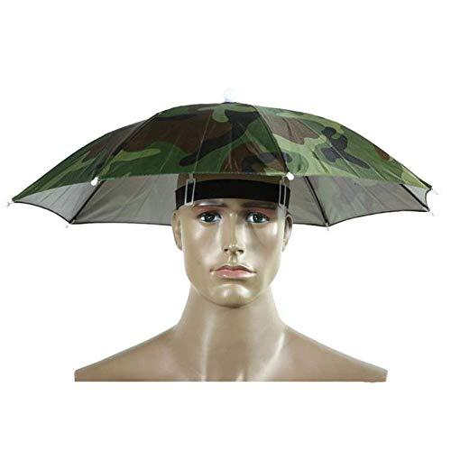Gorra de Paraguas Gorras de Pesca Sombrero de Paraguas