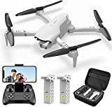 4DF10 RC Drone with 1080P HD Camera for Adults,FPV Wifi Live Video Rc Quadcopter for Kids, Beginners Toys,3D Flips, Trajectory Flight, App Control, Headless Mode,Altitude Hold, 2 Batteries,