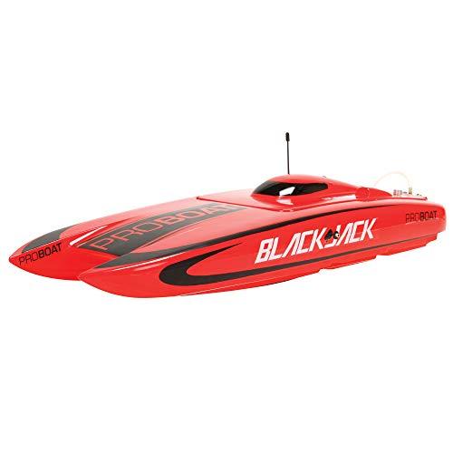 "Pro Boat Blackjack 24"" Brushless Catamaran RTR, PRB08007"