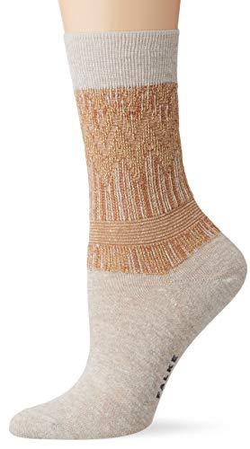 FALKE Damen Socken Mexicali, Baumwollmischung, 1 Paar, Beige (Nature 4000), Größe: 41-42