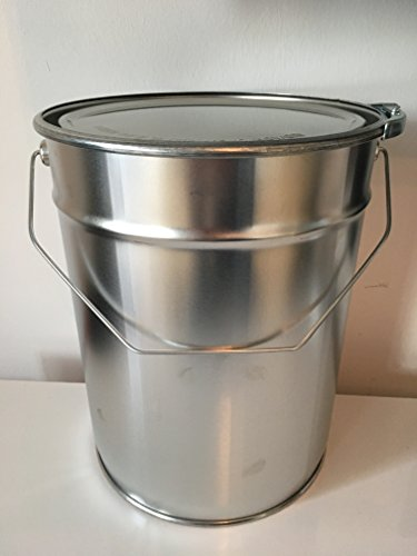 Weißblecheimer Metalleimer konisch 10 Liter/kg R/A, Gefahrgut tauglich, verzinntes Stahlblech
