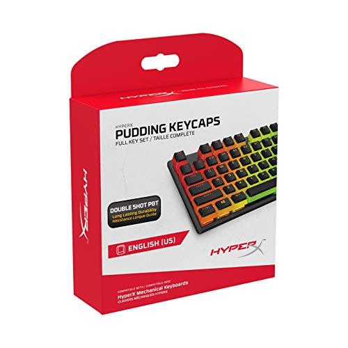 Teclas HyperX Pudding Keycaps - Conjunto completo de teclas