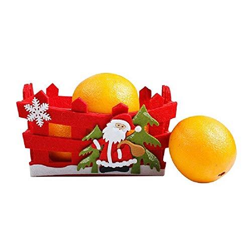 MZY1188 Cesta Almacenamiento Dulces navideños, Bolsa