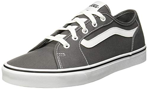 Vans Damen Filmore Decon Sneaker, Grau ((Canvas) Pewter/True White Gf5) 38 EU