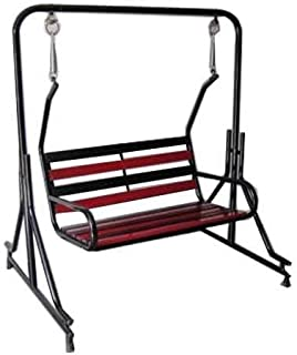 Kaushalendra Swing Indoor Outdoor Jhula for Home with Stand 300 kg Capacity (Iron Swing)