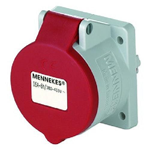 Mennekes (Unternehmen) 3385 – Boden Einbauleuchte 16 A 5 Polen 400 V Referenz