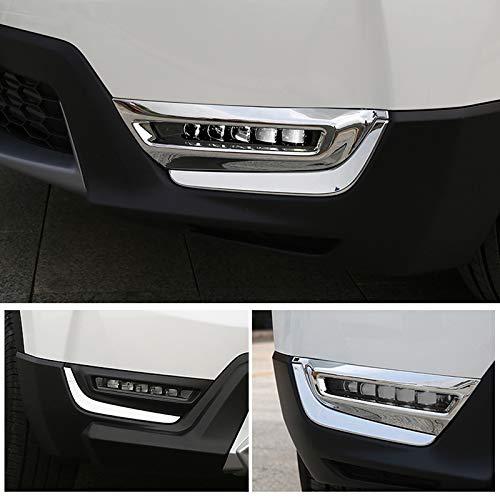JIERS Für Honda CRV 2017-2019, Frontnebelscheinwerfer Lampenverkleidung Auto Styling Auto Zubehör