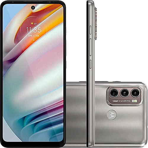 Celular Motorola Moto G60 Champagne 128gb Tela 6.8 6gb Ram Camera 108mp 8mp 2mp