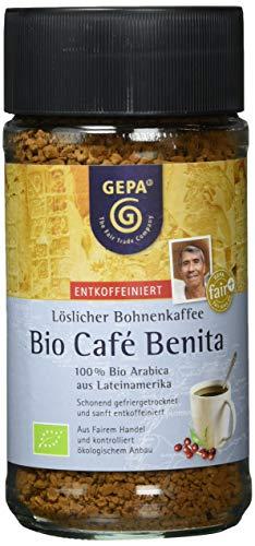 GEPA Bio-Café Benita entkoffeiniert Instant, 100 g
