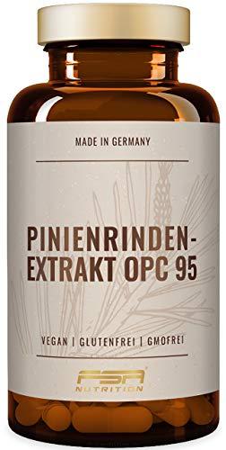 Pinienrindenextrakt 450 mg, 95{36c44c2c338367af58ce72de26d8f20ebc87e70c8f4dab46014d98f8902c8116} OPC = 427,5 mg, Preis-Leistungs-Sieger 2020*, 90 Kapseln, Vegan - FSA Nutrition