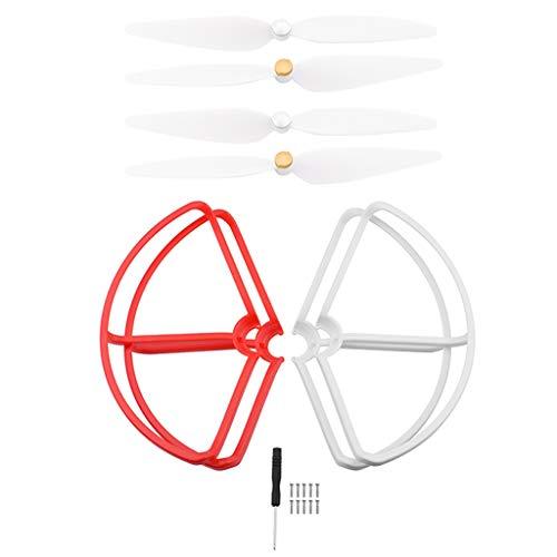 dailymall Accessorio Per Xiaomi Protection 4 Pezzi Per Xiaomi Mi Drone 4K - rosso + bianco