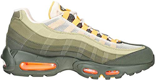 Nike Unisex-Erwachsene Air Max 95 Og Sneakers, Mehrfarbig (String/Total Orange/Neutral Olive 001), 41 EU