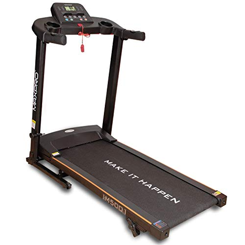 WELCARE Folding Treadmill IM5001 (1.5HP) - Electric Motorized Exercise Machine for Running & Walking [Easy Assembly]