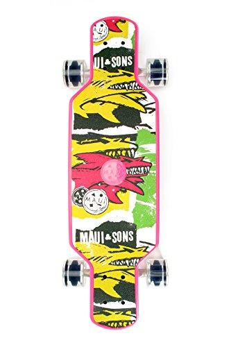 Maui And Sons mafrp G Focus Skateboard Unisex Kinder, Focus
