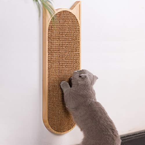 ITSMAOMI Rascador para gatos y gatos de pared, rascador de sisal, protector de sofá, para suelo o pared
