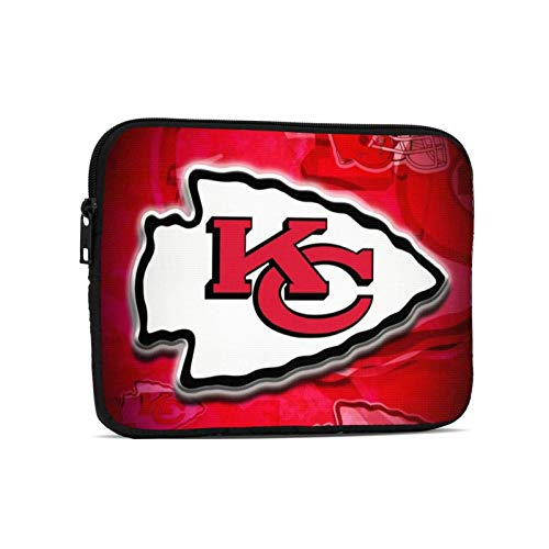 Kansas City Football Chief Laptop Pouch Case Laptops Sleeve Bag Briefcase Notebook Computer Tablet Bags for Women Man Boys Girls 7.9 Inch