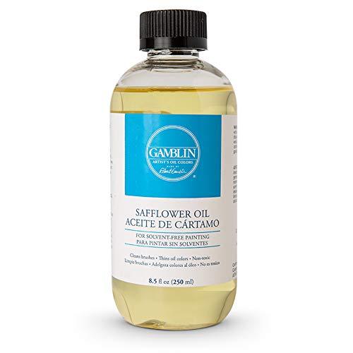 Gamblin Safflower Oil 8.5 oz Bottle