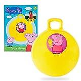 Peppa Pig Ballon Sauteur Enfant, Jeux Ballons Sauteurs 45 cm, Jouet Sauteur Interieur Exterieur 3 Ans +