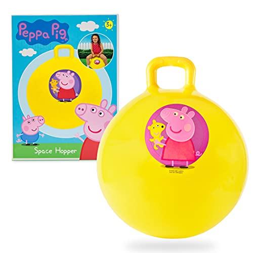 Peppa Pig Hüpfball ab 3 Jahre, Peppa Wutz Springball für Kinder, Indoor und Outdoor Spielzeug