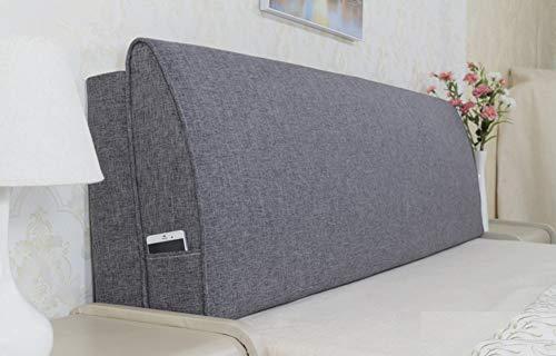 Keilkissen Sofa Rückenlehne Kopfkisse Rückenkissen Kopfteil für Bett Lesekissen Lenden Polster Rückenlehnenkissen