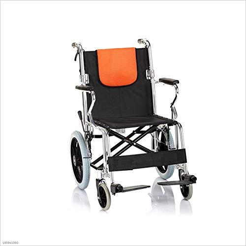 MYMAO 01Rolstoel auto versterkte aluminium legering opvouwbare opklapbare achterlicht ouderen gehandicapte rolstoel
