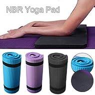 Fancylande Tappetino da Yoga, Spesso Tappetino Yoga NBR per Allenamento Allenamento Yoga Esercizio Addominale Fitness Perdere Peso Cuscino per Donna Sport Yoga Mat kindhearted