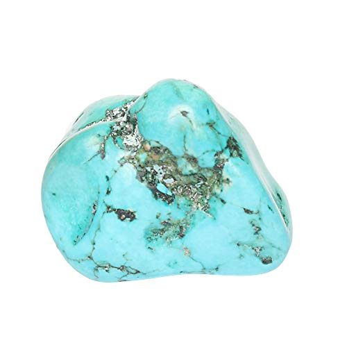 GEMHUB Unheated Natural Rough Blue Turquoise 230.95 Ct Uncut Certified Raw Healing Turquoise Loose Gemstone