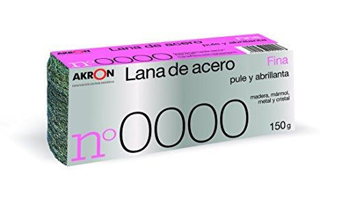 LANA DE ACERO FINA NO. 0000 BOBINA 150 GR.
