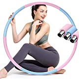 colorfarm Weighted Fitness Exercise Hoop for Adults & Beginners Weight Loss Sports Exercise Hoops...