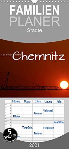 Das etwas andere Chemnitz - Familienplaner hoch (Wandkalender 2021, 21 cm x 45 cm, hoch)