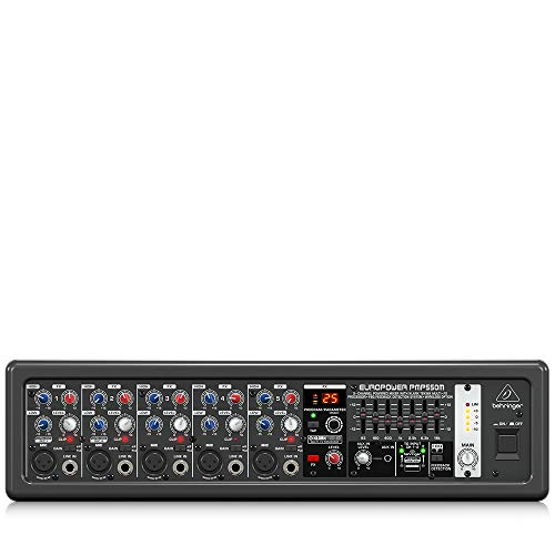 Behringer PMP550M 500W 5-Channel Powered Mixer