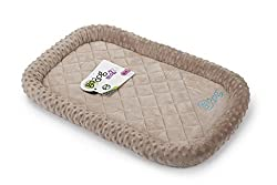 goDog Beige dog bed pad.