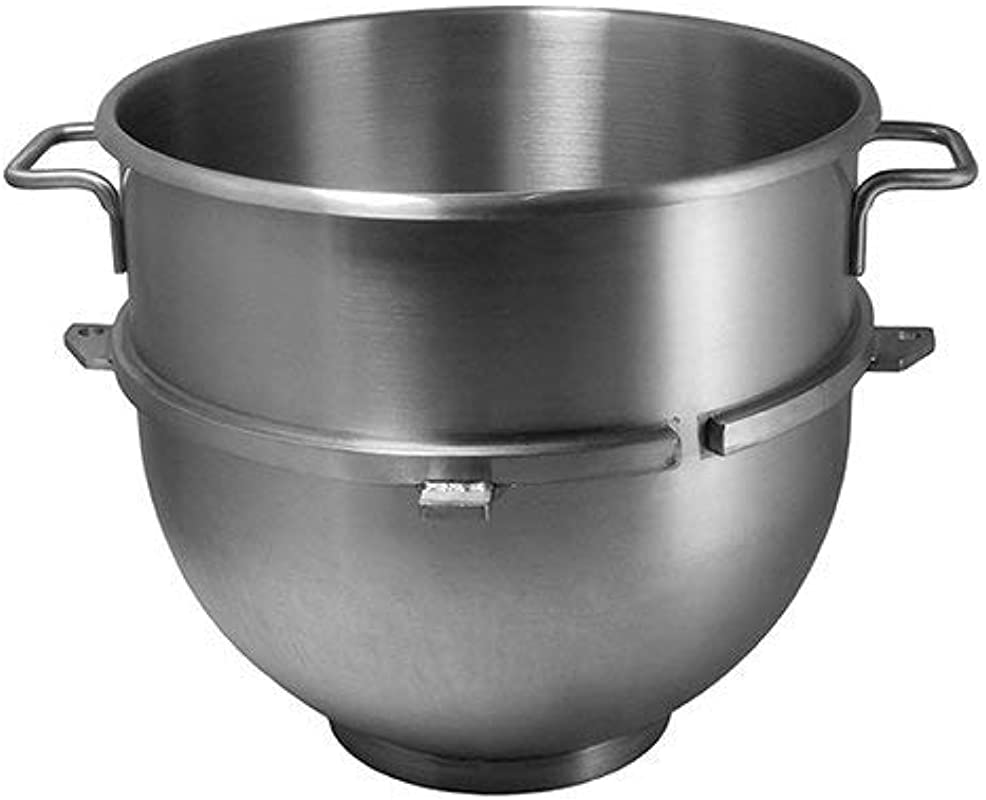 Vollum 60 Quart Commercial Stainless Steel Mixing Bowl For Hobart Mixer Hobart Equivalent