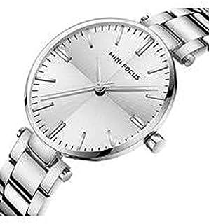 ساعة يد للنساء بلون فضي من ميني فوكاس MF0265L.02