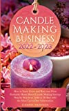 Candle Making Business 2022-2023: How to Start, Grow and Run Your Own Profitable Home Based Candle Making Startup Step by Step in as Little as 30 Days ... Information (Starting Your Business)