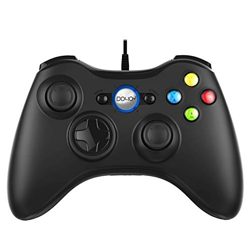 USB Controller Gamepad, DOYO Wired Game Controller PC Gamepad, Joystick für Computer (Windows XP/8/7/10) / PS3 / Android Gaming Vibration Feedback Steam Controller