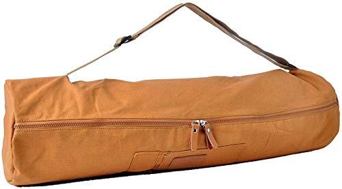 #DoYourYoga Yogatasche »Sunita hochwertigem Canvas (Segeltuch) /die Tasche ist für Yogamatten bis zu Einer Größe von 180 x 60 x 0,5 cm/erhätlich in 9 Farben Pfirsisch