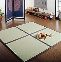畳 カーペット 簡単に畳のくつろぎスペースに 和風 ユニット畳 『あぐら』 82×164cm ブラウン